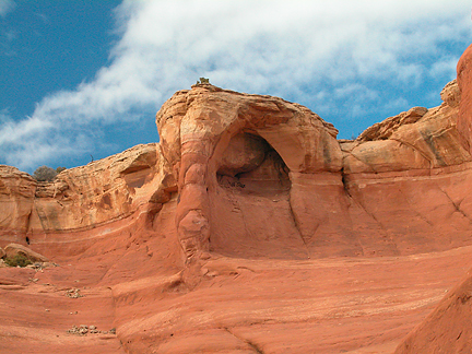 Arc de Triomphe, South Devils Garden, Arches National Park, Utah