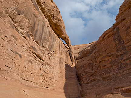 Flying Buttress Arch, Fourth Canyon, Herdina Park, Arch National Park, Utah