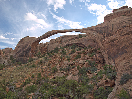 Landscape Arch, South Devils Garden, Arches National Park, Utah