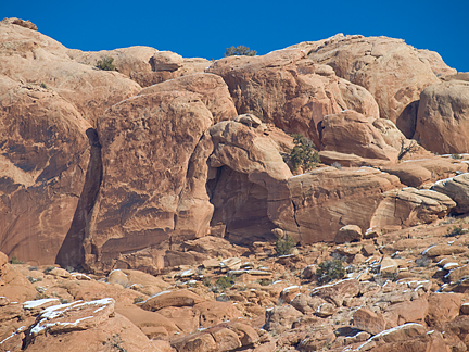 Water Tank Arch, Southwestern Area, Arches National Park, Utah