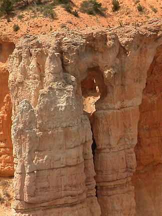 Bryce Point Window, Bryce Point, Bryce Canyon National Park, Utah