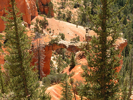 Farview Natural Bridge, Farview Canyon, Bryce Canyon National Park, Utah