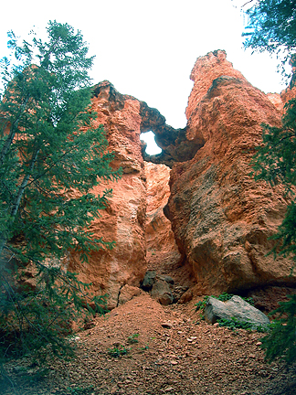 Unnamed Arch 02, Sunset Point, Bryce Canyon National Park, Utah