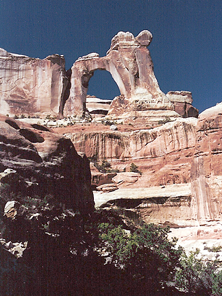 Angel Arch, Angel Canyon, Canyonlands National Park, Utah