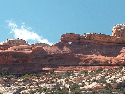Chin Arch, Salt Creek, Canyonlands National Park, Utah