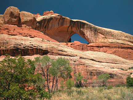 Cleft Arch, Lavendar Point, Canyonlands National Park, Utah