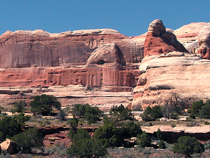 Cliff Wall Arch, Salt Creek, Canyonlands National Park, Utah