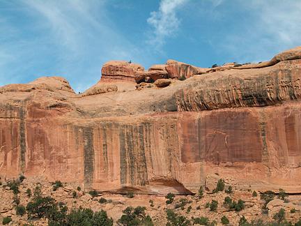 Climbers Arch, Lavendar Canyon, Canyonlands National Park, Utah