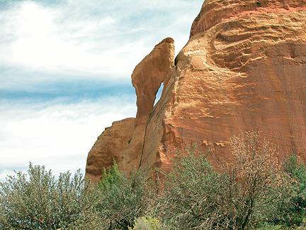 Drumstick Arch, Lavendar Canyon, Canyonlands National Park, Utah