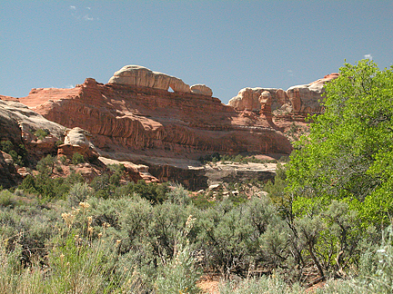 Gothic Arch, Horse Canyon, Needles District, Canyonlands National Park, Utah
