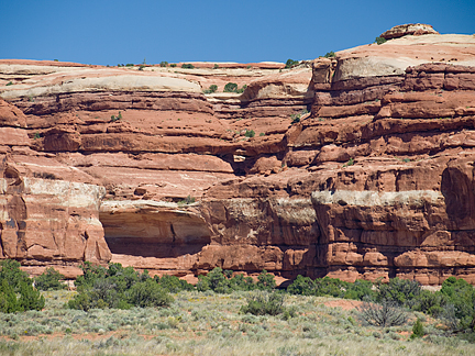 Grommet Arch, Salt Creek Pocket, Needles District, Canyonlands National Park, Utah