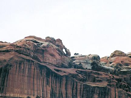 Hanging Arch, Secret Canyon, Canyonlands National Park, Utah