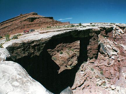 Musselman Arch, Musselman Canyon, Canyonlands National Park, Utah