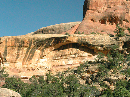 Scout Arch, Horse Canyon, Needles District, Canyonlands National Park, Utah