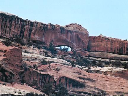 Secret Canyon Arch, Secret Canyon, Canyonlands National Park, Utah
