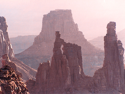 Washerwoman Arch, Buck Canyon, Canyonlands National Park, Utah
