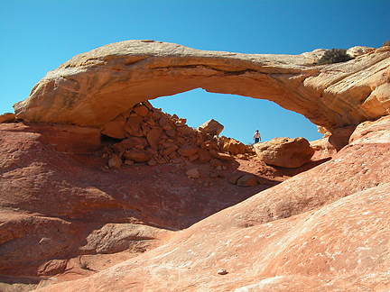 Wedding Ring Arch, Upper Salt Creek, Canyonlands National Park, Utah