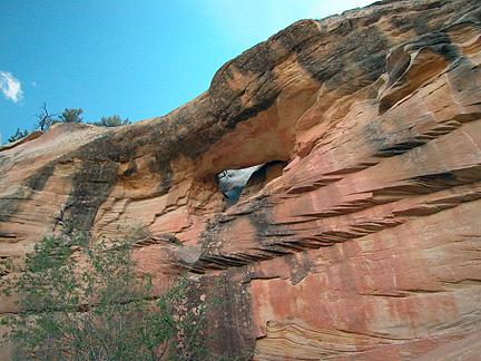 Bear Canyon Arch, Bear Canyon, Capitol Reef National Park, Utah
