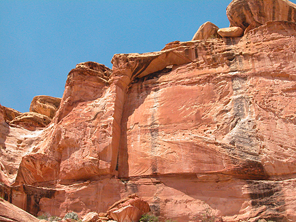 Grand Wash Arch, Grand Wash, Capitol Reef National Park, Utah