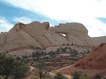 Peekaboo Arch, Upper Muley Twist, Capitol Reef National Park, Utah