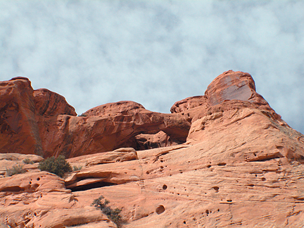 Reach Arch, Upper Muley Twist, Capitol Reef National Park, Utah