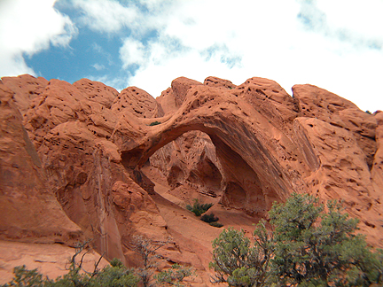Saddle Arch, Upper Muley Twist, Capitol Reef National Park, Utah