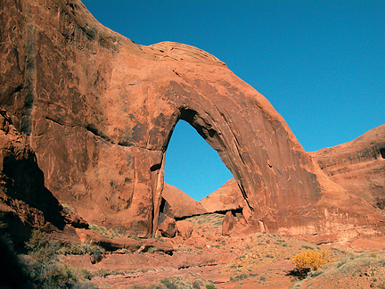 Broken Bow Arch, Willow Gulch, Glen Canyon National Recreation Area, Utah