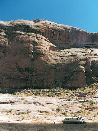 Butterfly Arch, Nasja Mesa, Glen Canyon National Recreation Area, Utah