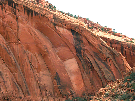 Emigrant Spring Jughandle Arch, Silver Falls Creek, Glen Canyon National Recreation Area, Utah
