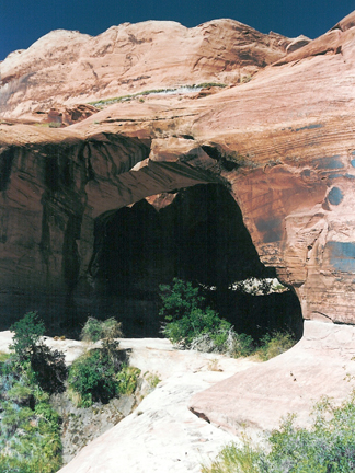 Jacks Arch, Wilson Mesa, Glen Canyon National Recreation Area, Utah