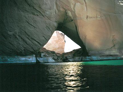 LaGorce Arch, Davis Gulch, Glen Canyon National Recreation Area, Utah