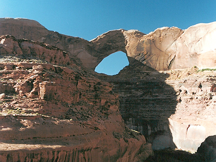 Stevens Arch, Stevens Canyon, Glen Canyon National Recreation Area, Utah