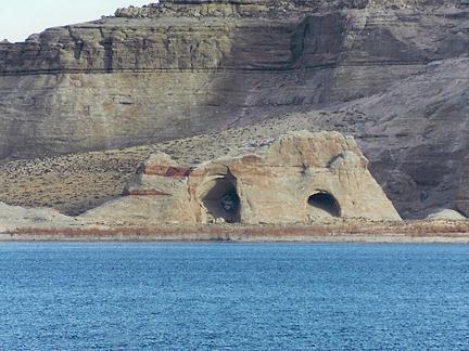 Wahweap Window, Wahweap Bay, Glen Canyon National Recreation Area, Utah