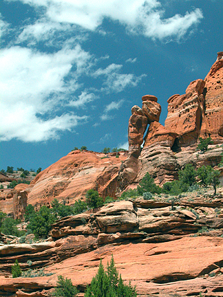 Paria Arch, Paria River, Grand Staircase-Escalante National Monument, Utah