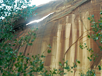 Cliff House Arch, Escalante River, Grand Staircase-Escalante National Monument, Utah