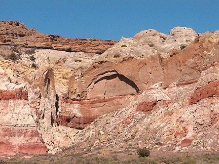 Condor Arch, West Cove, Grand Staircase-Escalante National Monument, Utah