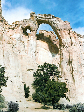 Grosvenor Arch, Cottonwood Creek, Grand Staircase-Escalante National Monument, Utah