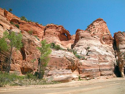 Paria Arch, Paria River, Grand Staircase-Escalante National Monument, Utah