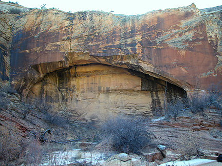 Sliver Arch, Phipps Wash, Grand Staircase-Escalante National Monument, Utah