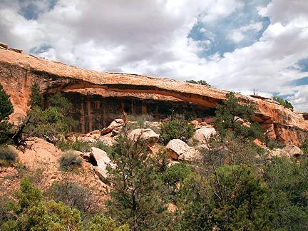 Barrette Arch, Gold Bar Canyon near Moab, Utah