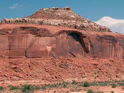 Bartlett Arch, Bartlett Wash near Moab, Utah