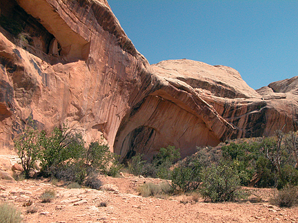 Black Eye Arch South, Tenmile Canyon, Grand County, Utah