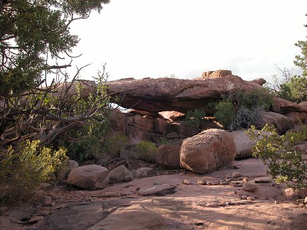 Canyonlands Overlook Arch, Hatch Point near Moab, Utah