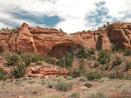 Farview Arch, Kane Spring Canyon near Moab, Utah