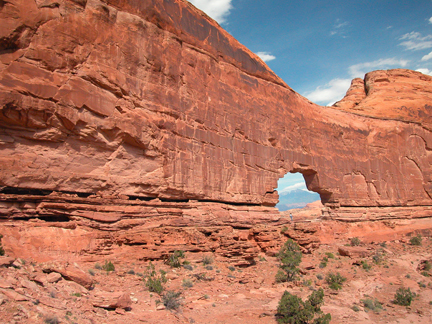 Gold Bar Arch, Gold Bar Canyon near Moab, Utah