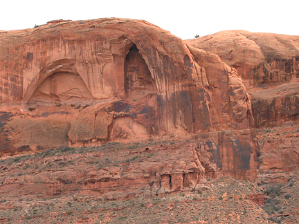 Hidden Arch, Williams Bottom near Moab, Utah
