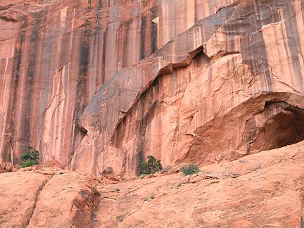 Island Arch, Poison Spider Mesa near Moab, Utah