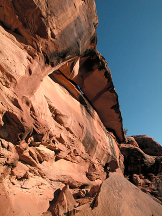 Jagged Knife Arch, Gold Bar Canyon near Moab, Utah