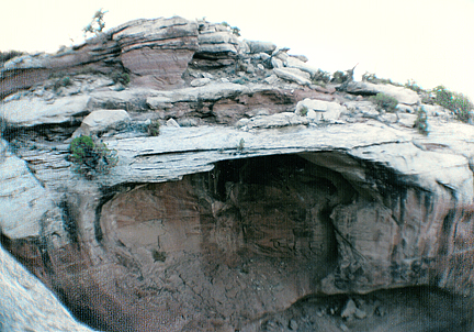 Jeopardy Arch, South Fork Sevenmile Canyon near Moab, Utah