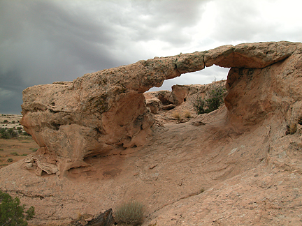 Juniper Arch, Spring Canyon Point near Moab, Utah